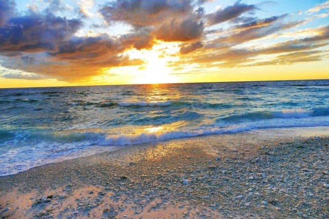 Sunset Lady Elliot Island