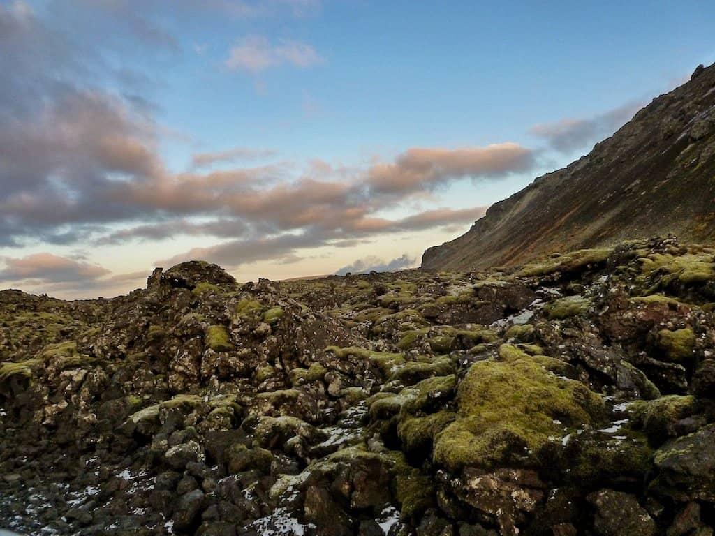 Volanic region Iceland