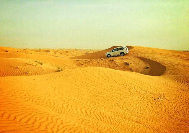 Arabian Adventures: dune bashing and water sports in Ras Al Khaimah Global Grasshopper