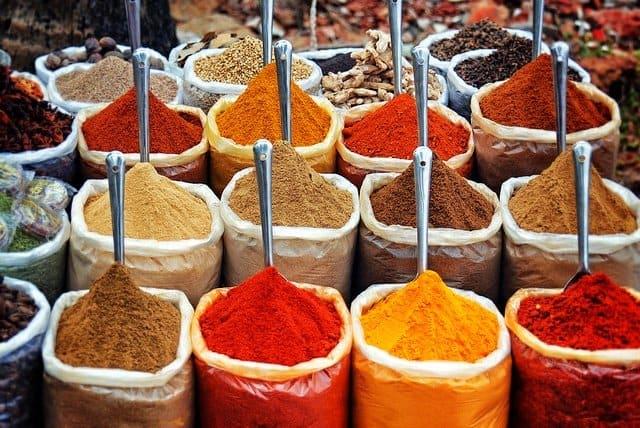 Goa food market