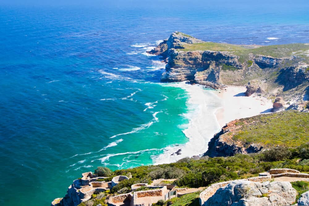 Panorama Of The Cape Of Good Hope South Africa