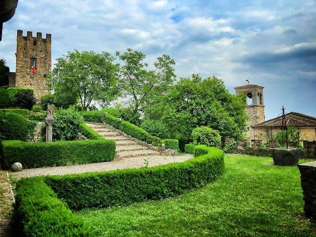 Castle Lake Garda
