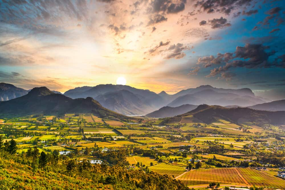 Franschhoek - places to visit in South Africa