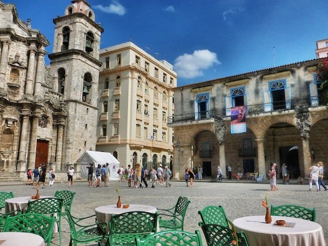 Plaza de Armas de La Habana