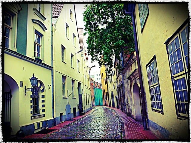 Beautiful Riga Street