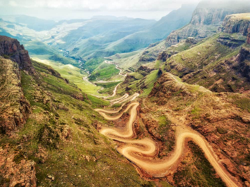 Sani Pass - beautiful places to visit in South Africa