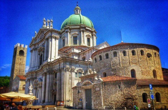 Brescia cathedral Italy