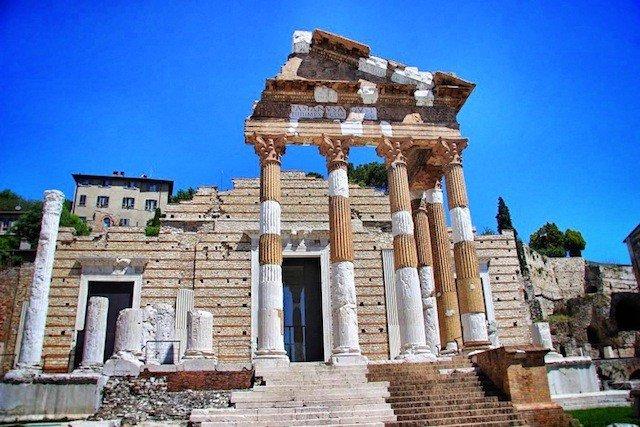 Tempio Capitolino Brescia Italy