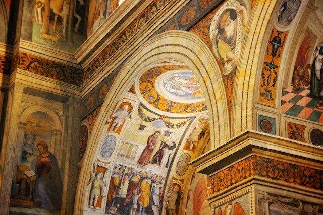 Museo di Santa Giulia archway