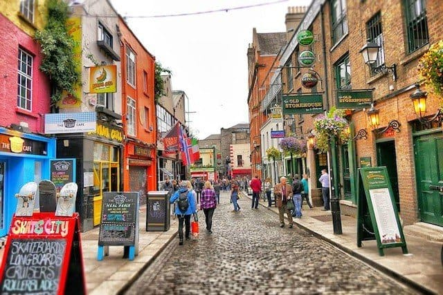 A weekend in Dublin - without luggage! Global Grasshopper