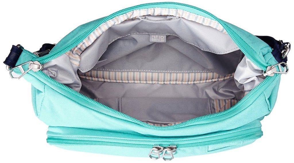 The Pacsafe citysafe 200 bag review
