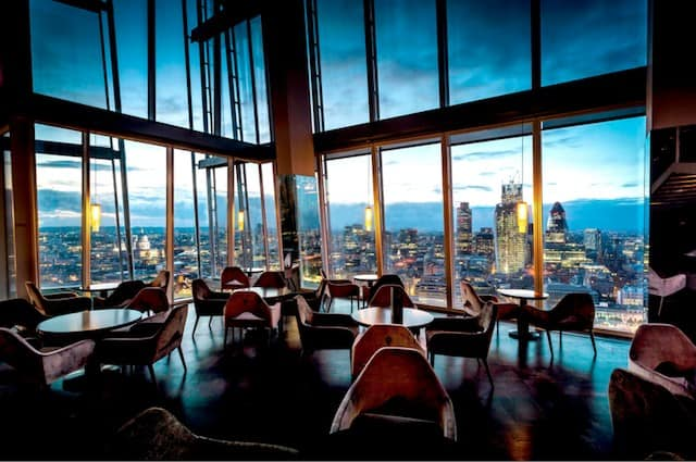 Aqua bar, The Shard