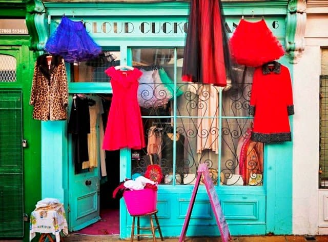 boutique Shops London