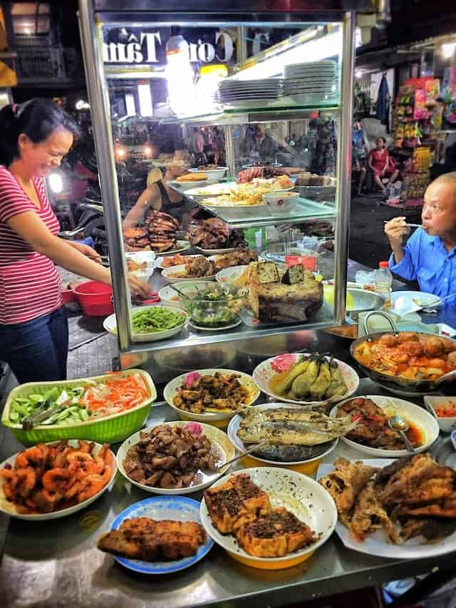 District 5 Saigon Street Food Image