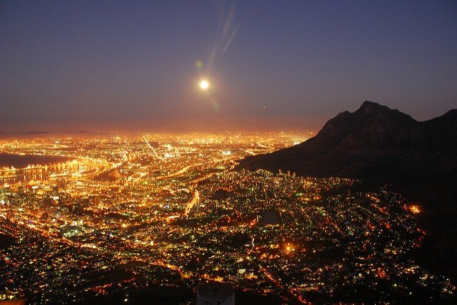 Cape Town Moonlight