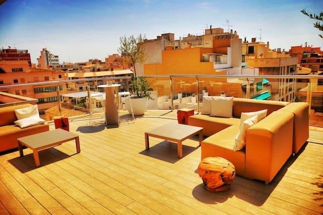 INNSIDE Palma hotel Roof Terrace
