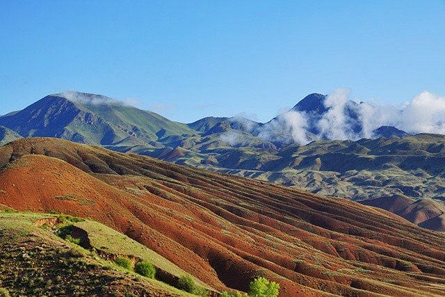 4. diverse landscape kyrgzystan