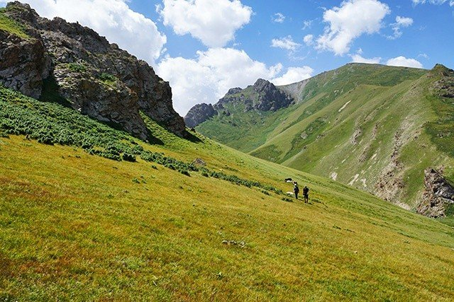 9. no tourists in kyrgyzstan
