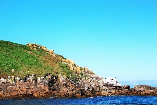 Ceis islands coastline