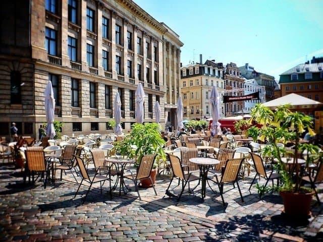 Riga Square Latvia