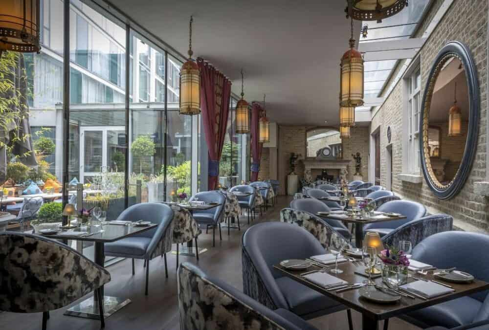 Chic boutique hotel in Dublin
