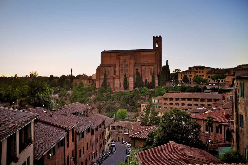 Sienna City in Tuscany