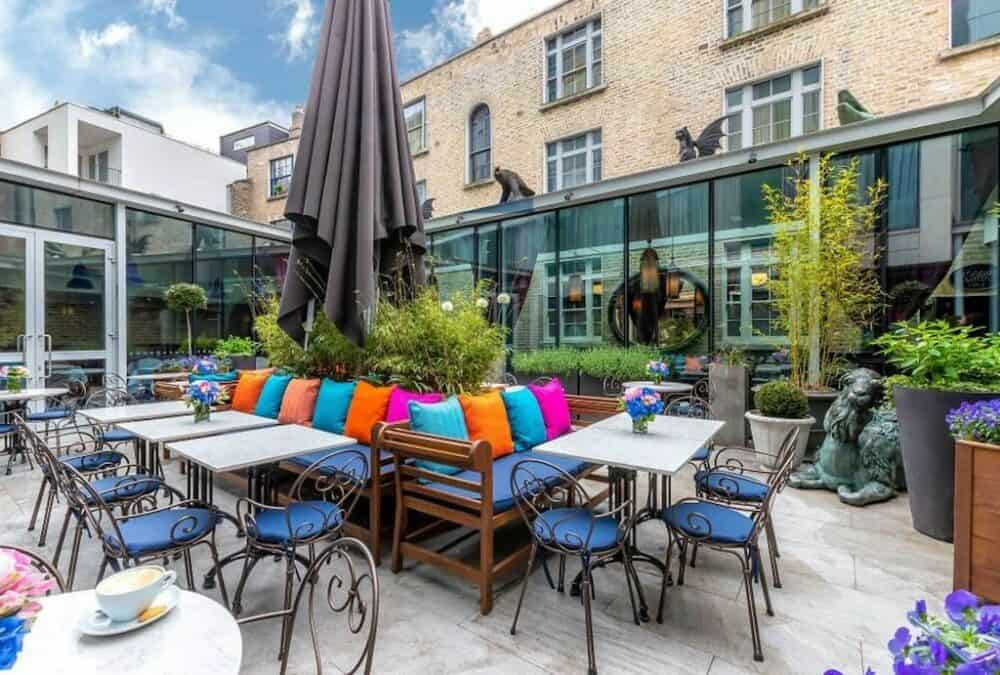 Hip boutique hotel in Dublin
