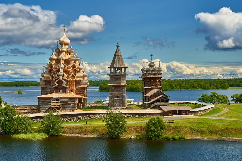 Kizhi - best places to visit in Russia