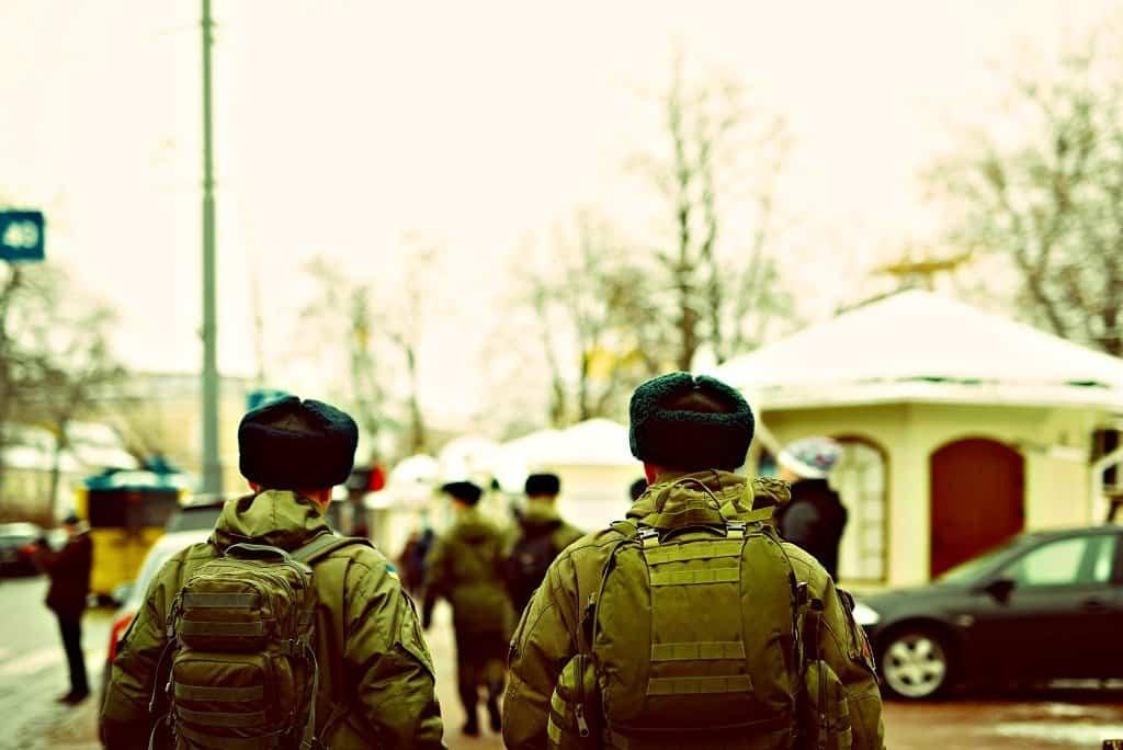 Army in Kiev Ukraine