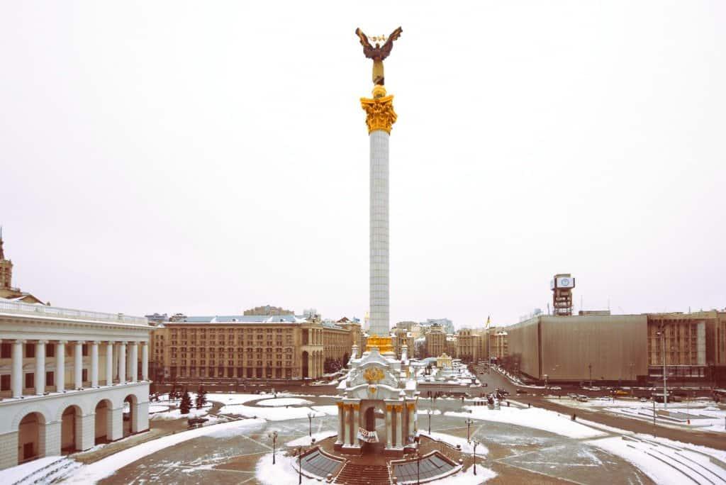 In pictures: a wintry Kiev, Ukraine Global Grasshopper