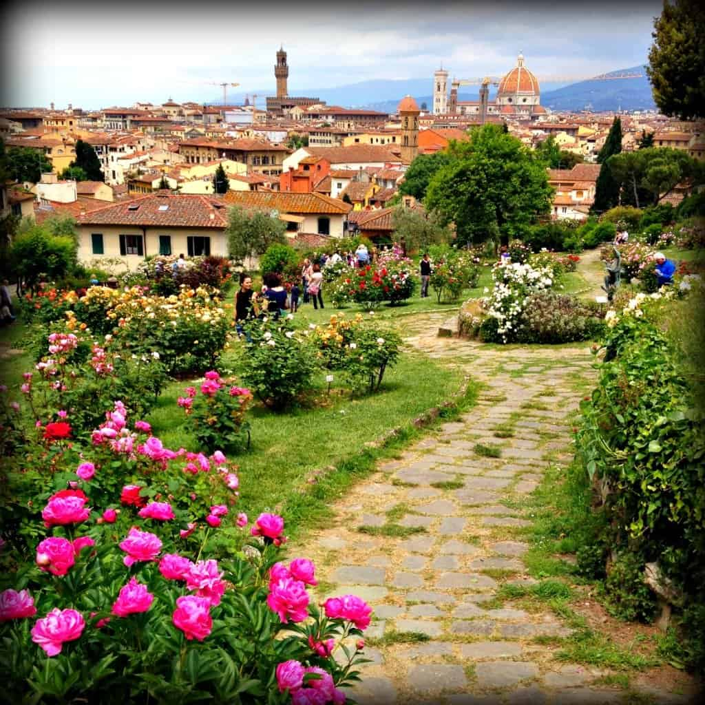 How to spend a stylishly cultured weekend in florence for - Il giardino delle rose roma ...