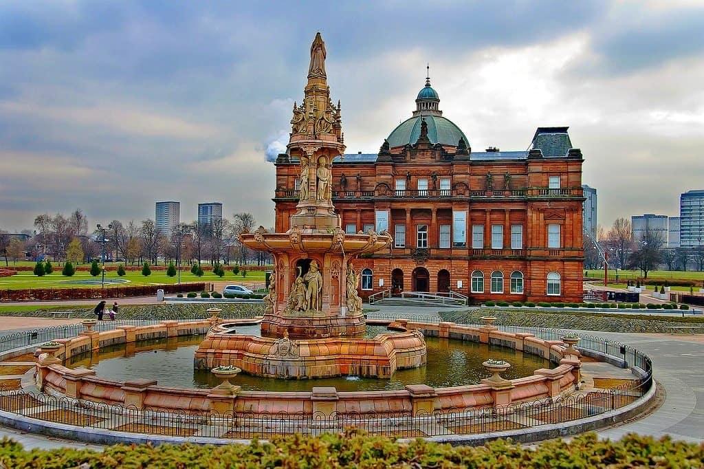 Glasgow City Fountain
