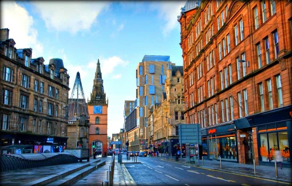 The Merchant City and Trongate