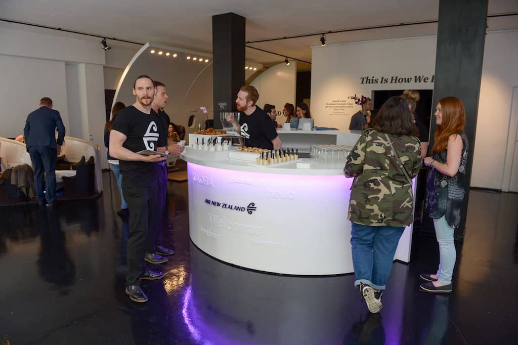 Air New Zealand brings its immersive pop-up to London's Soho Global Grasshopper
