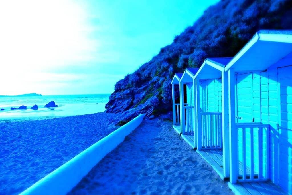 Lusty Cove Beach huts