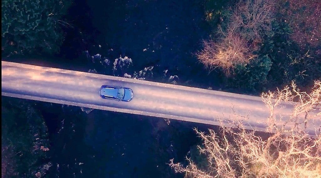 Dartmoor Park Bridge Drone shot
