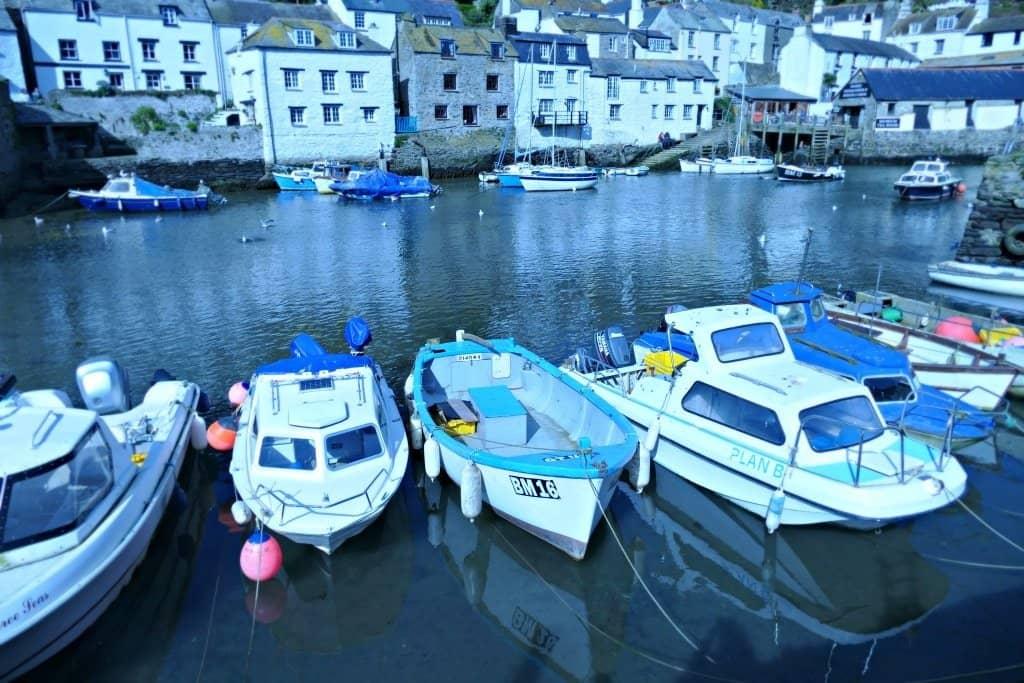 Polperro Village Cornwall Harbour