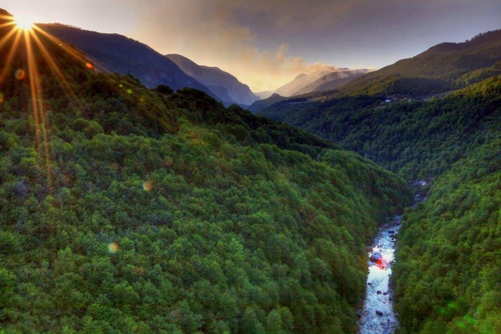 The Tara Canyon Montenegro