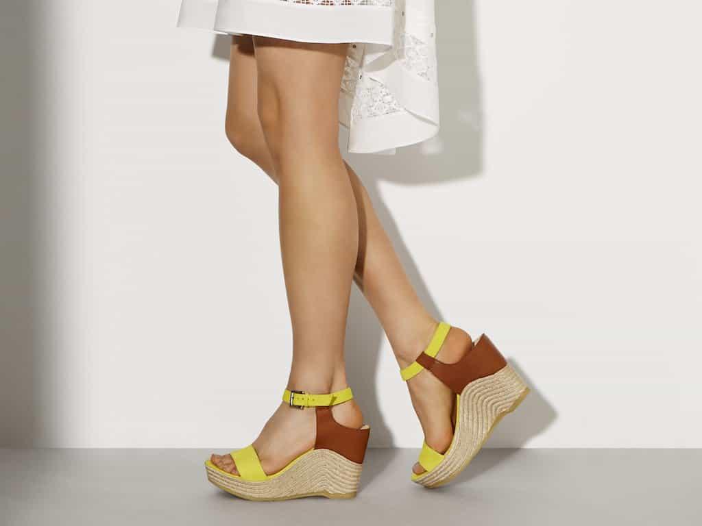 Karen Millen platform shoes
