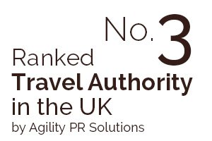 Ranked No 3 Travel Authority in the UK