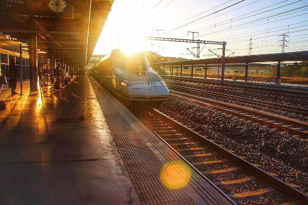Renfe train in Europe