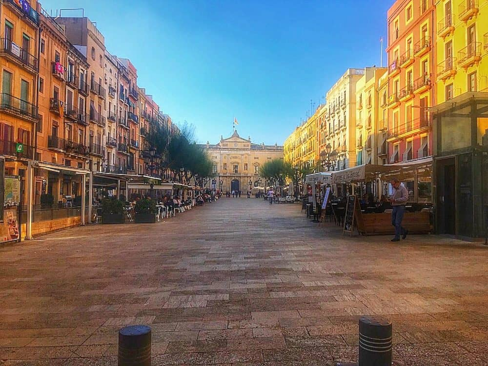 Tarragona Square - a great place to visit in Spain