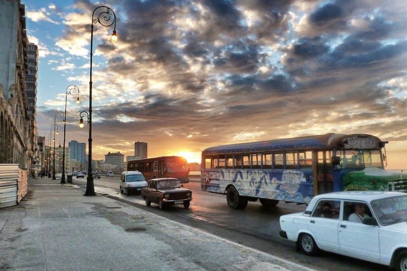 Havana Malecon in Cuba