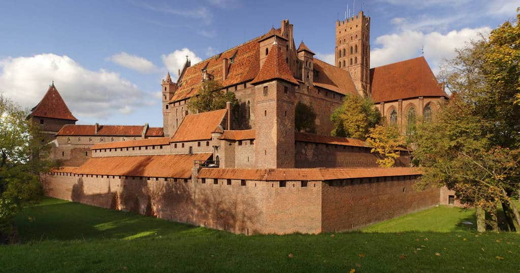 Castle in Malbork