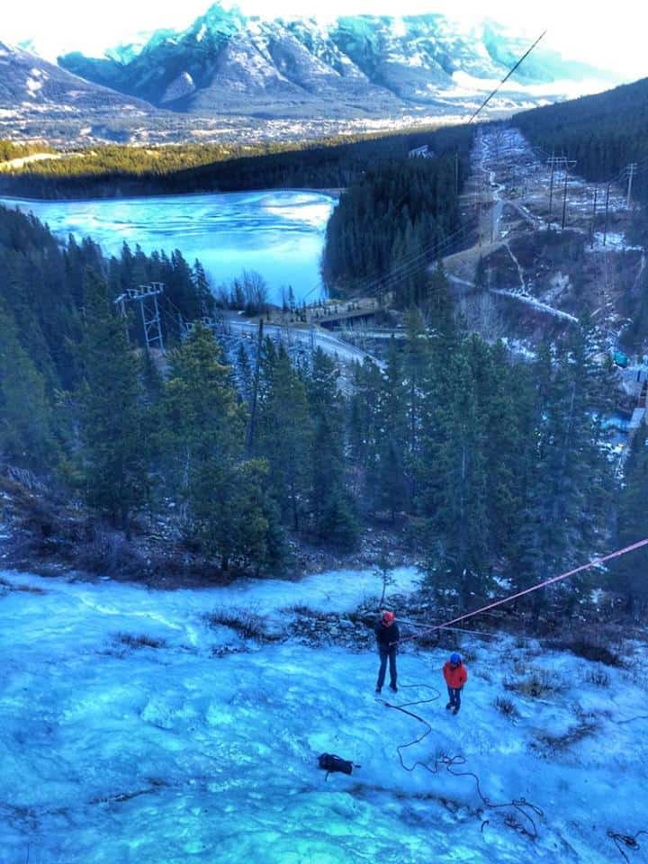 Ice climbing in Alberta, Canada - braving the almost impossible Global Grasshopper