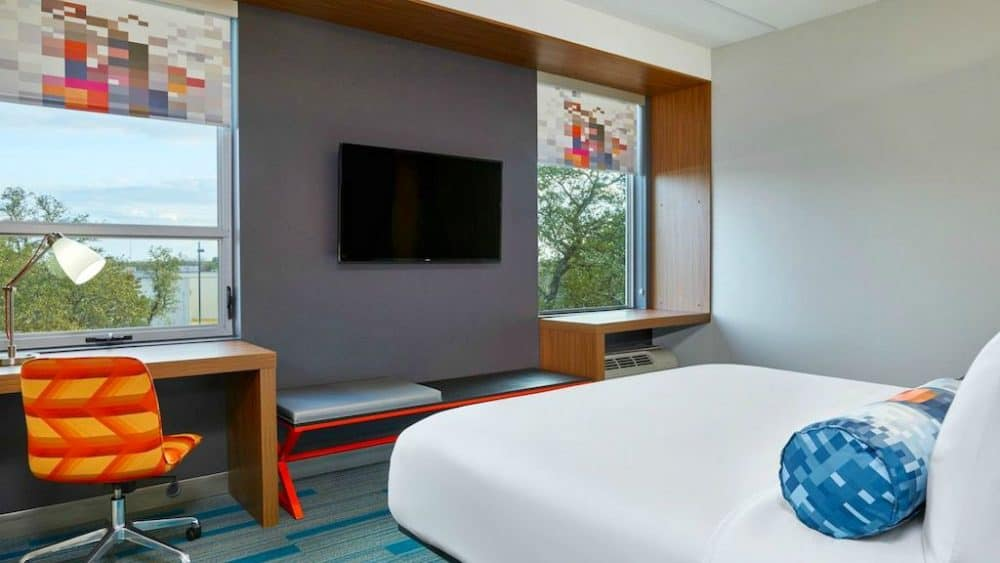 top 12 cool and unusual hotels in austin boutique travel. Black Bedroom Furniture Sets. Home Design Ideas