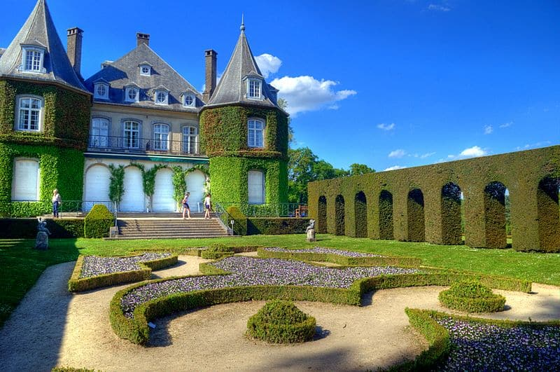 Chateau de la hulpe - stunning places to explore in Belgium