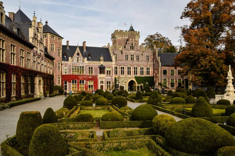 Gaasbeek Castle - a romantic-style castle