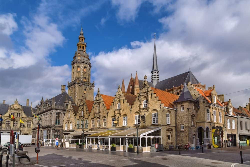Veurne - an idyllic Belgium town and a charming place to visit