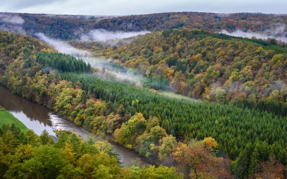 Wallonia Belgium - stunning scenery